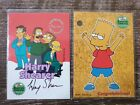 The Simpsons 10th Anniversary Harry Shearer INKWORKS Auto A1 + redemption card