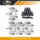 fits BMW 330Ci 03 05 20mm 5x120 12x15 wheel spacers 20Pc Cap Spiked Lug Nuts