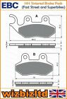 EBC Front HH Brake Pad PGO PMX 50 Naked ALL YEARS FA264HH