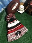 San Francisco 49ers colors STF SF winter beanie red black white Hat Cap H50
