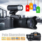 Polo UHD 1080P 33MP 8X ZOOM 24X Telephoto Lens Digital Camera Video Camcorder