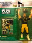 KEVIN GREENE / PITTSBURGH STEELERS 1996 NFL Starting Lineup Action Figure & Exc