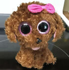 Ty Beanie Boo Maddie Dog with Bow 6