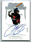 FRANCISCO LINDOR 2018 FLAWLESS AUTOGRAPH ** SHORT PRINTED ** # 7 # 20