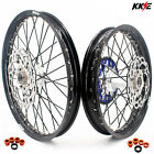 KKE 21/19 Mx Casting Wheels Rim Fit HUSABERG FE FC 250 390 350 450 501 2004-2014