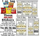 12 Wedding Engagement Anniversary Birthday Party Chip Bag Gold Black Celebration