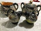 Hinode Japan Dragonware cream + Sugar Bowl +salt+ pepper