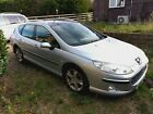 LARGER PHOTOS: 2005 Peugeot 407 SE SW Manual Petrol Silver Estate Car For Sale with Low Mileage