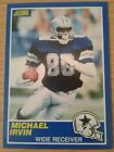 Michael Irvin Cards, Rookie Cards and Autographed Memorabilia Guide 8