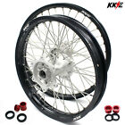 KKE 21/19 Mx Casting Wheels Rims Set Fit HONDA CRF250R 2014-2020 CRF450R 2013