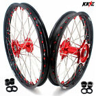 KKE 21/19 Mx Casting Wheels Rim Set Fit HONDA CRF250R 2014 CRF450R 2020 Dirtbike