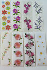 Mrs Grossman FLOWER Sticker Strips Vintage Retired Discontinued You Choose