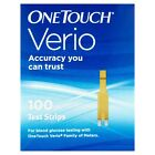 OneTouch Verio Test Strips 100ct [EXP: 3 Months+ ] Ding