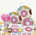 Donut Birthday Party Supplies Set 16 Guests Donut Party Decorations for kids