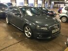 2008 58 AUDI A4 AVANT 20 TDI S LINE S S SATNAV LEATHER ALLOYS LOVELY