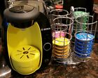 Bosch Tassimo TAS2002UC8 Black and Yellow Coffee Maker with Revolving Pod Caddy