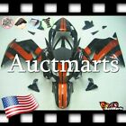 For Honda VFR800 2002-2012 Fairing Bodywork ABS Plastic Kit Orange 1x9 PA