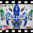 For Honda CBR600RR 2005-2006 Fairing Bodywork ABS Movistar Blue Green 1b1 PA