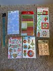 Scrapbook Stickers Christmas Winter Theme Mixed Lot New  Opened