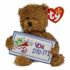 Ty Beanie Baby You did it - MWMT (Bear Greetings Collection)