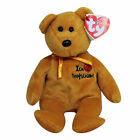 Ty Beanie Baby Friedrich I love - MWMT (Bear German Country Exclusive 2004)
