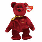 Ty Beanie Baby Omnibus red - MWMT (Bear Harrods UK Country Exclusive 20