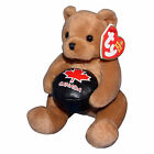 Ty Beanie Baby Deke - MWMT (Canada Country Exclusive) Hockey Bear