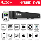 ZOSI 1080P Lite H265+ 8 Channel Video Surveillance DVR for Security Camera HDD