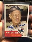 2005 Topps Fan Favorites WHITEY FORD AUTO Archives Autographs YANKEES SP SSP