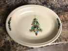 Fiesta Christmas Oval Serving Plate