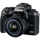 Canon EOS M5 Mirrorless Camera With 15-45mm IS STM EOS-M Lens 24.2mp 1080p Video