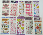 Sticko Stickers of Mom Dad Hearts Valentine  Misc You Choose