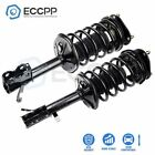 2 Pcs Front For Toyota Corolla Chevrolet Prizm Complete Struts Spring Assemblies