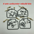 4 sets Durable Carburetor Carb Repair Kits For Honda CB650SC Nighthawk 1983-1985