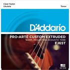 DAddario EJ65T Pro Arte Custom Extruded Tenor Nylon Ukulele Strings