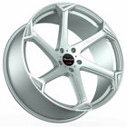 20 Giovanna Dalar X Silver 20x85 Directional Concave Wheels Rims Fits Audi S8