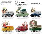 Greenlight Collectibles 37150-CASE 1:64 Norman Rockwell Vehicles #1 (Set of 6)