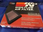 K&N Hi-Flow Air Intake Drop In Filter 33-2443 For Toyota & Lexus