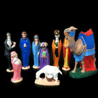 Vintage 1973 Nativity Scene Christmas Handmade Byron Molds Ceramic Made in Italy