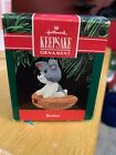 Hallmark Ornament 1990 - Brother - Puppy Cute Dog Gift Fast Shipping Christmas