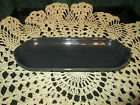 Fiesta Ware SLATE Gray/Grey Retired   Relish Tray Corn on the Cob Tray NWT