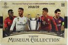 2018 19 Topps UEFA Champions League Museum Collection Soccer SEALED Hobby Box