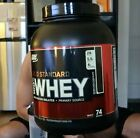 OPTIMUM NUTRITION GOLD STANDARD 100% WHEY, Double Rich Chocolate - 5Lb, NEW