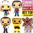 Funko Pop STRANGER THINGS Lot of 8 Exclusives SDCC & MORE! ⛄🈹️ HOLIDAY SALE🎄