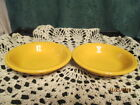 Fiesta Ware Retired MARIGOLD Yellow  Small Fruit Bowls  6.25 ounce Set of 2  NWT