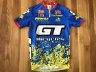 Vintage Mens Small Aussie GT Bicycles Rock Shox Cycling Jersey Good Condition