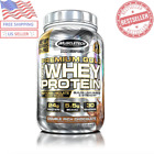MuscleTech Premium Gold 100% Whey Protein Powder Double Rich Chocolate 35.2oz