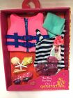 OUR GENERATION Fun Day Sun Day Doll Swimsuit Life Vest Goggles CHRISTMAS GIFT