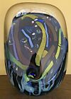 Large 14 Rollin Karg Art Glass 2002 Signed Sculpture