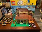 Lego The Simpsons 71006 The Simpsons House Plus Series 1 and 2 Figures COMPLETE